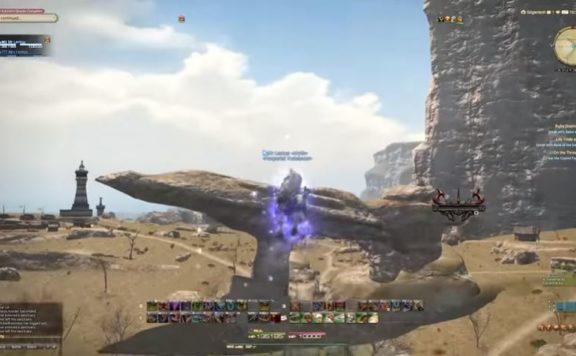 Final Fantasy XIV ritardo Front