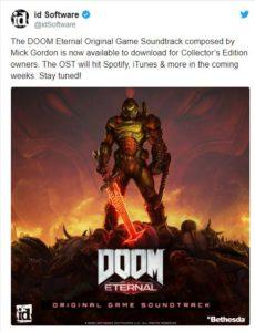 id Software Doom E soundtrack
