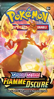 Sword Shield Flamme Oscure Booster Charizard VMAX IT 72dpi