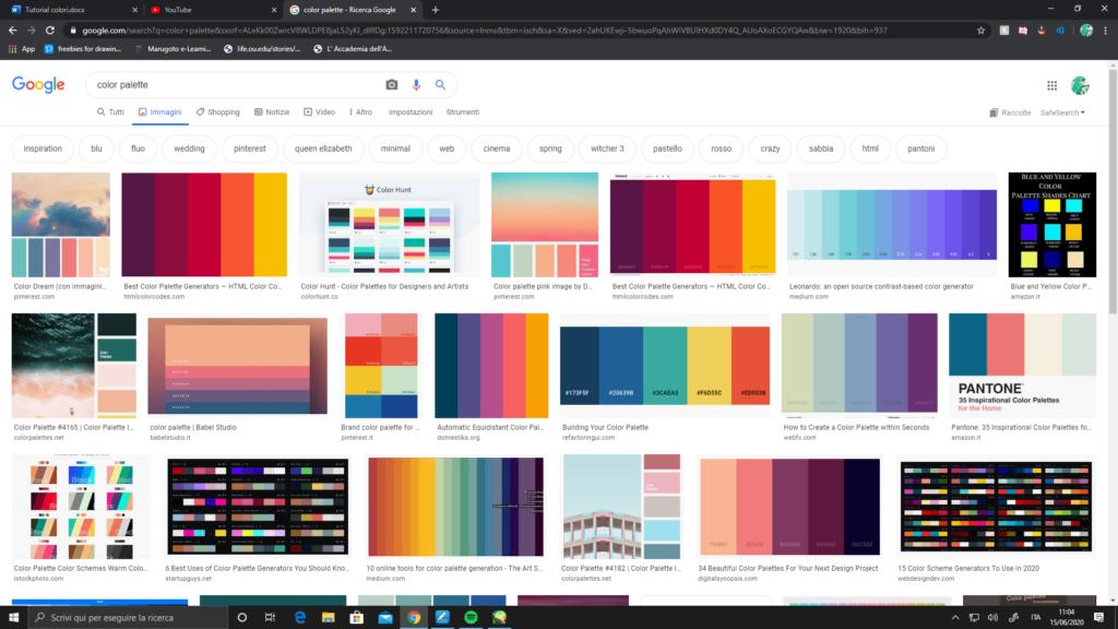 Palette online