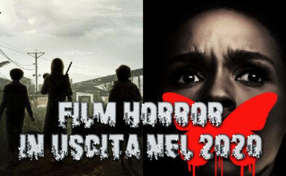 Film horror in uscita nel 2020