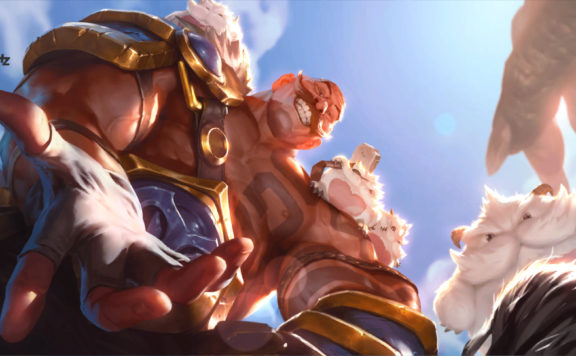 Legends of Runeterra patch 1.4 Braum 2
