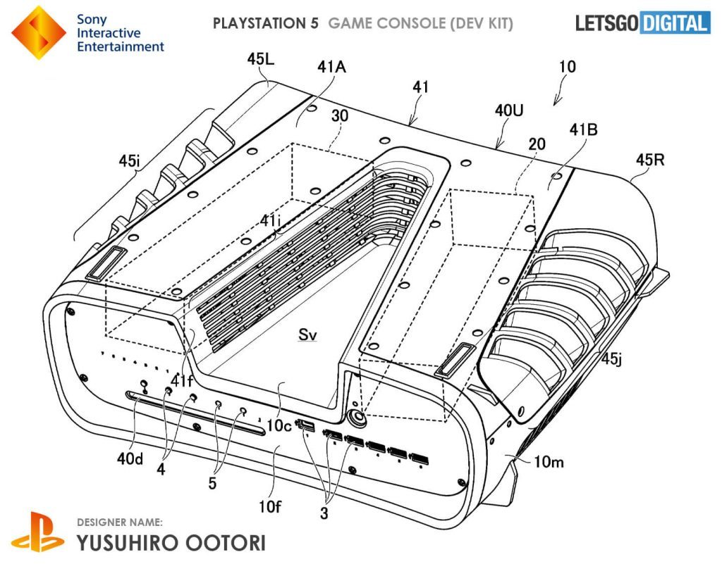 PS5 devkit obliquo