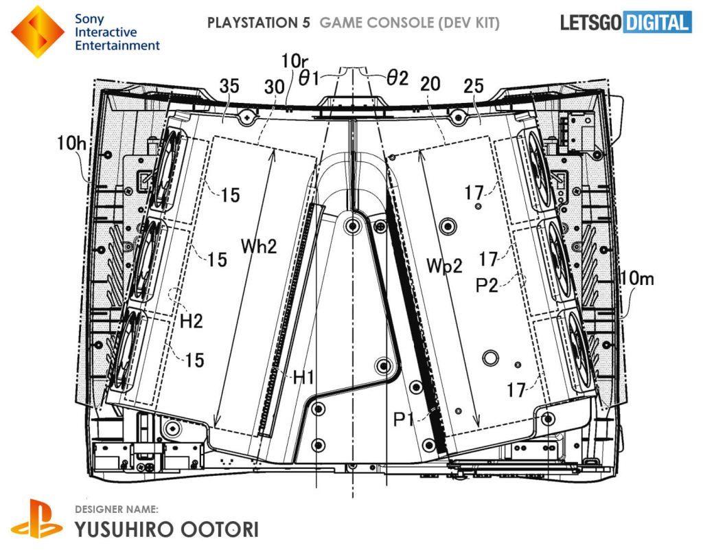 PS5 devkit interno