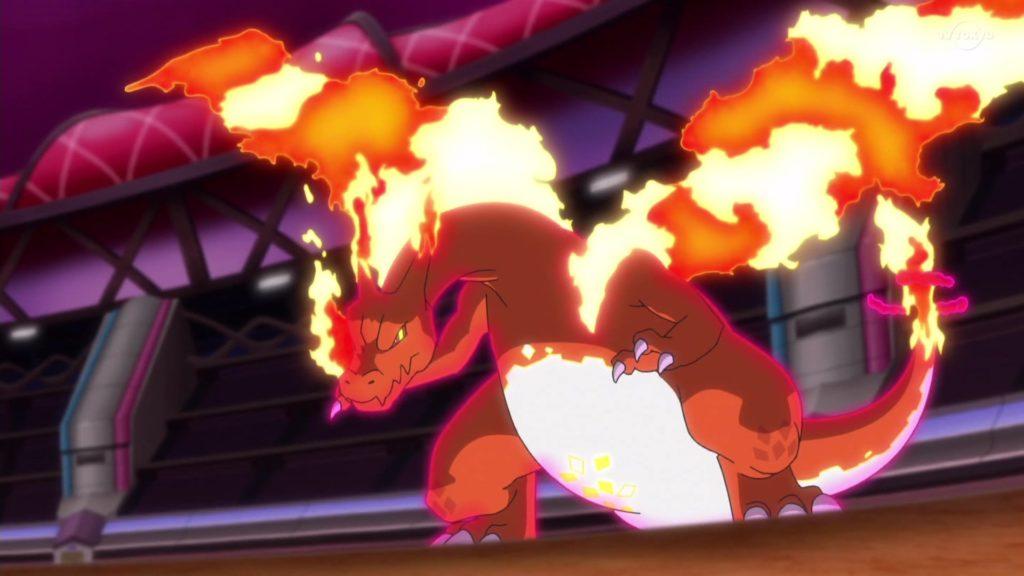 Pokémon spada e scudo Charizard Gigamax