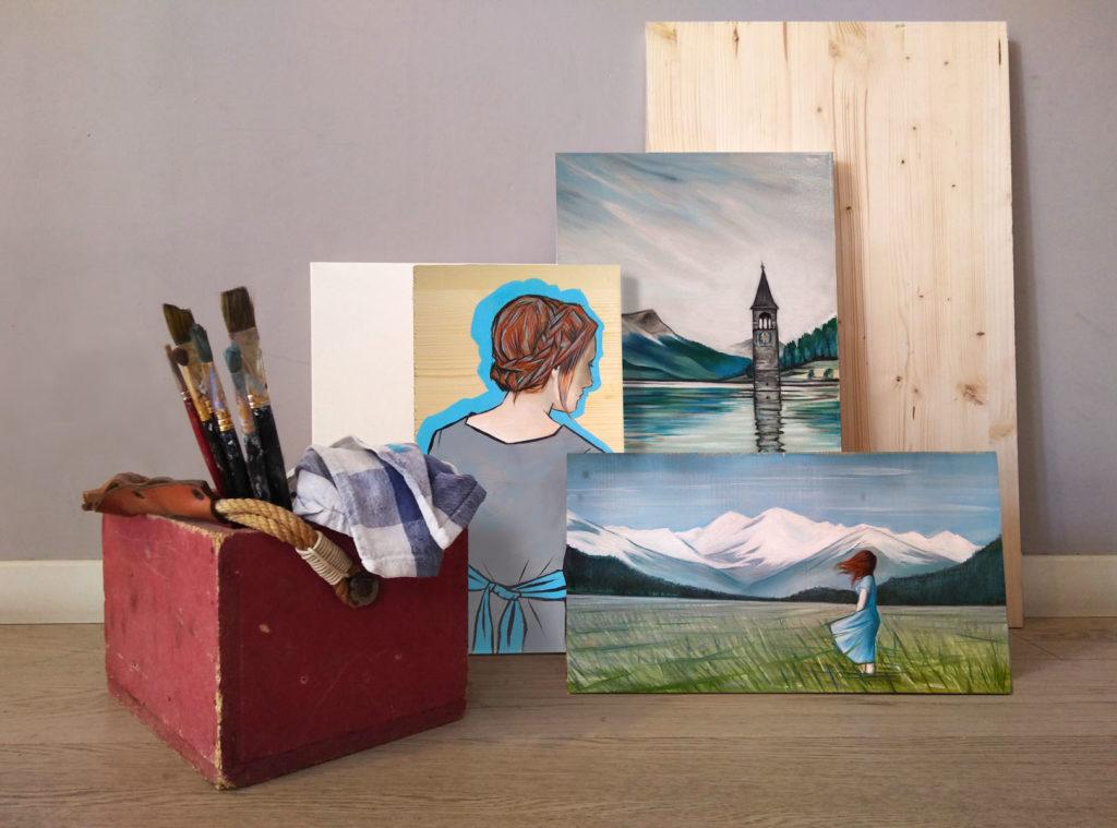 A Painter's Tale: Curon