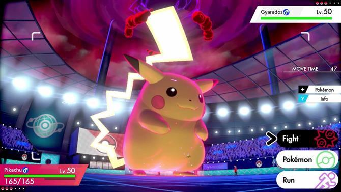 Pokémon spada e scudo amichevole  pikachu gigamax