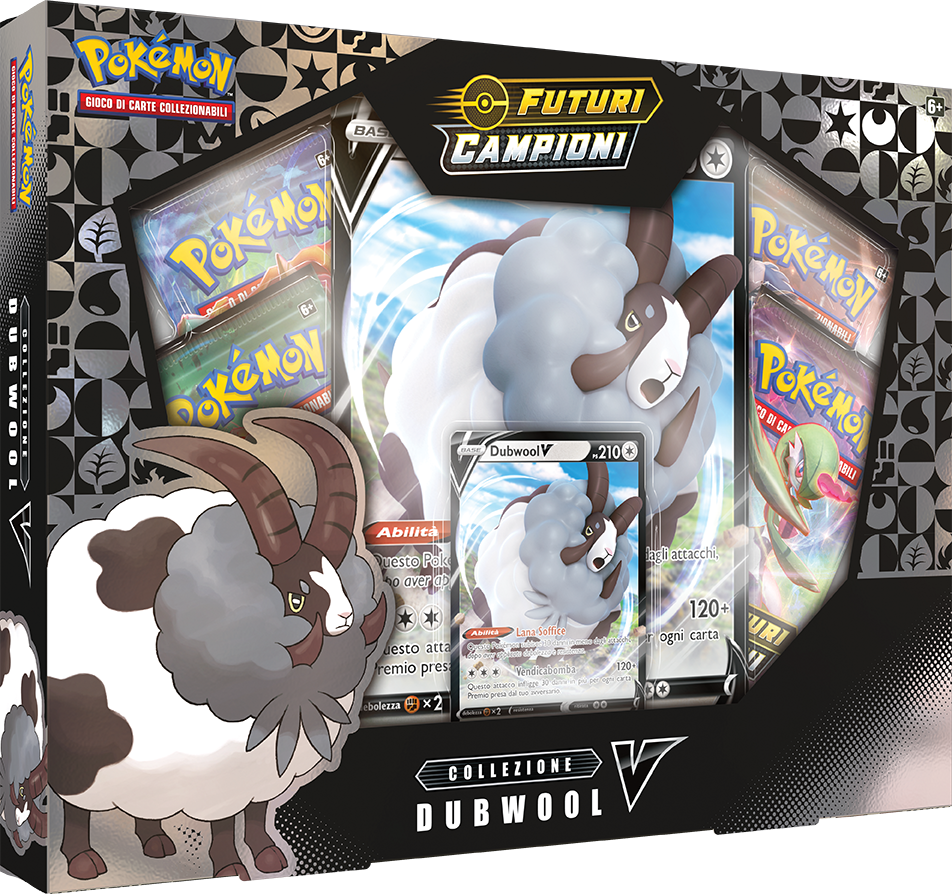 Pokemon TCG Champion s Path Collection Dubwool V IT
