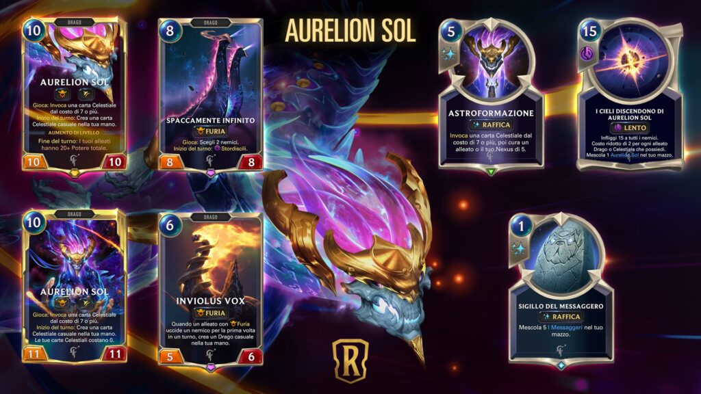 Legends of Runeterra-Aurelion Sol
