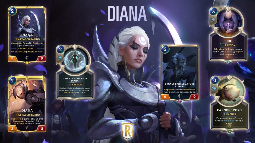 Legends of Runeterra Diana