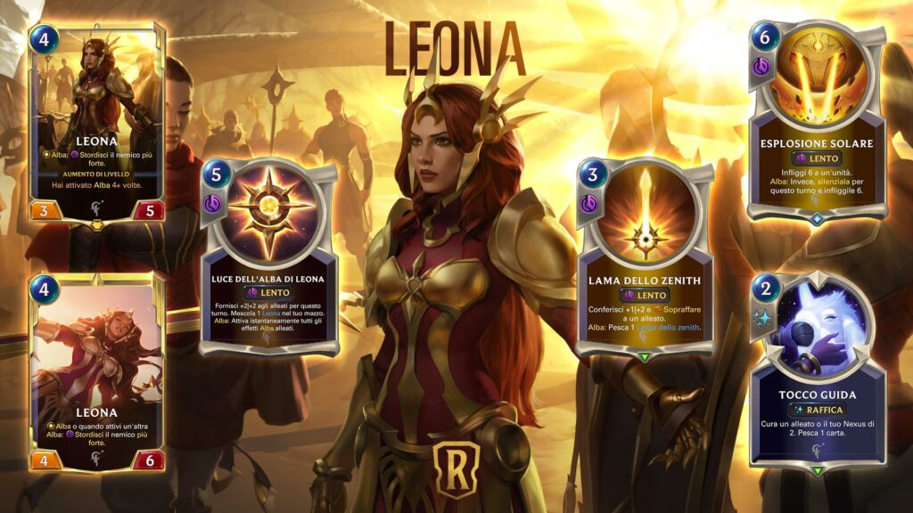 Legends of Runeterra Leona