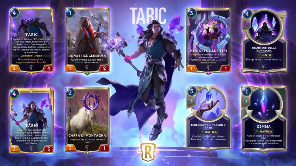 Legends of Runeterra Taric