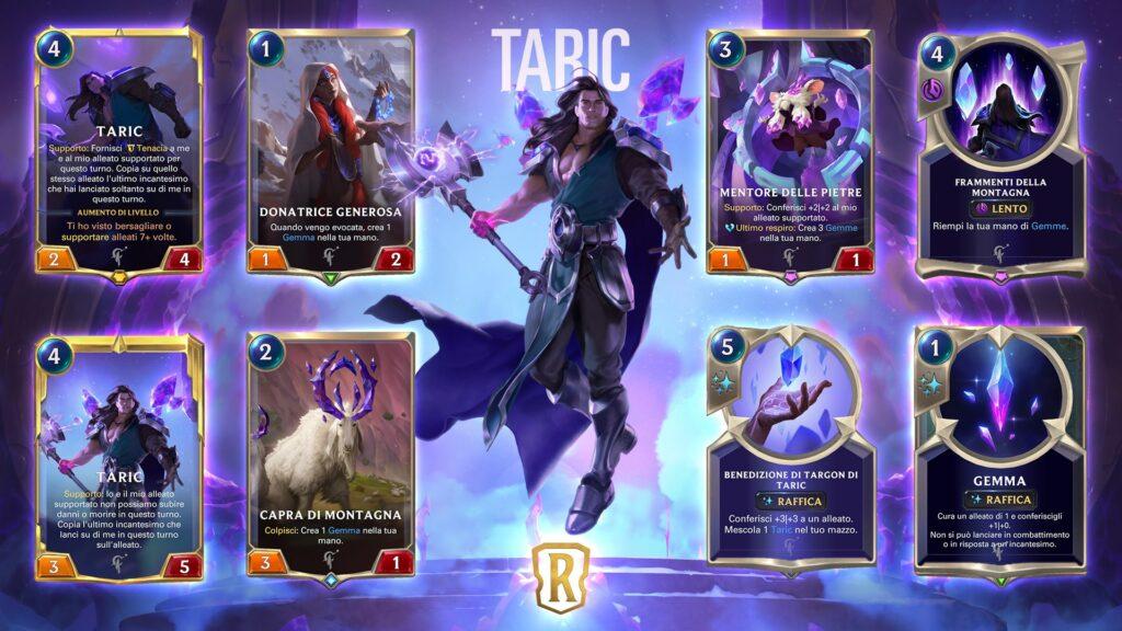 Legends of Runeterra Taric