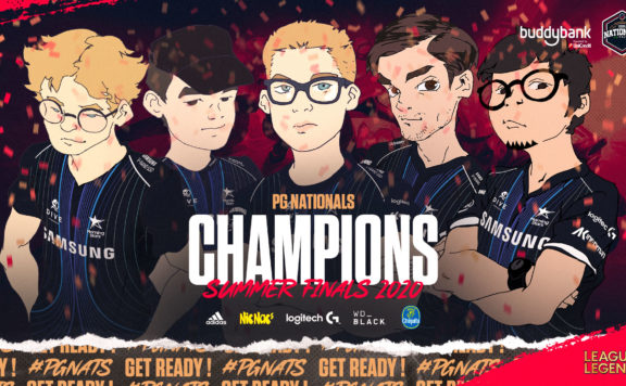 PG Nationals Summer Split 2020 Copertina