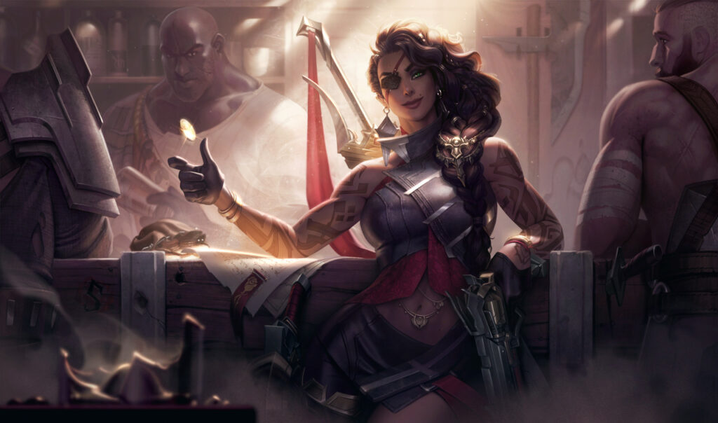 League of Legends Samira Splash FINAL