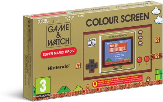 Nintendo Direct Game & Watch Super Mario Bros Confezione