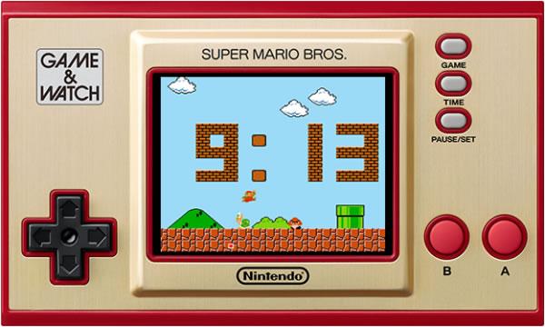 Nintendo Direct Game & Watch Super Mario Bros Orologio