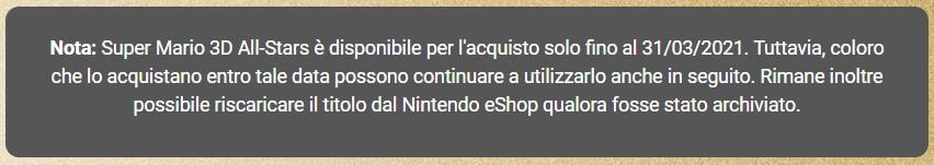 Nintendo Direct Super Mario 3D All Stars disponibilità