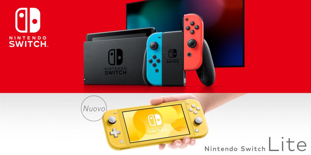 nintendo switch e nintendo switch lite