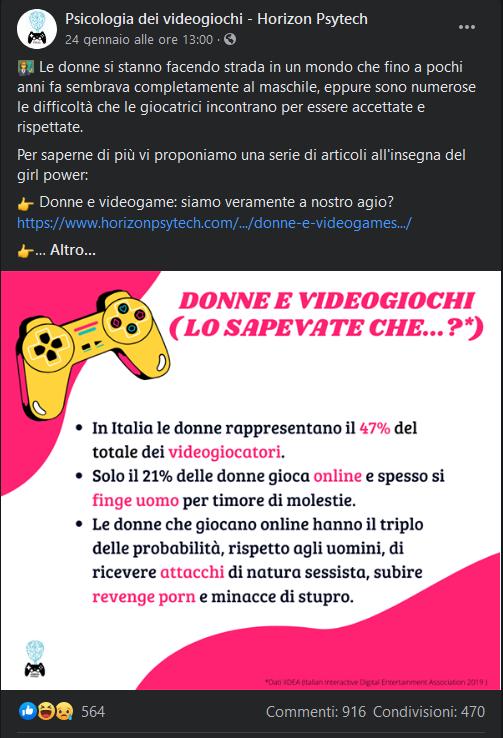 sessismo e videogiochi
