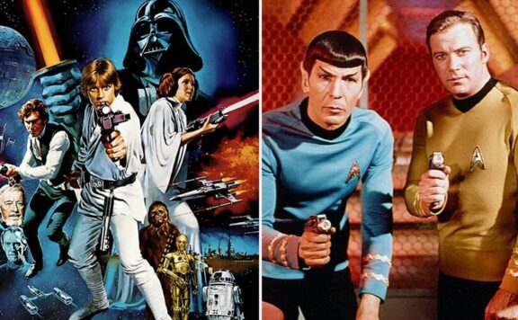 Star Wars Vs Star Trek Header