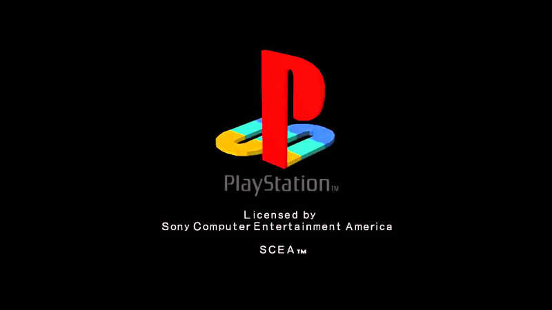 ps1 boot screen