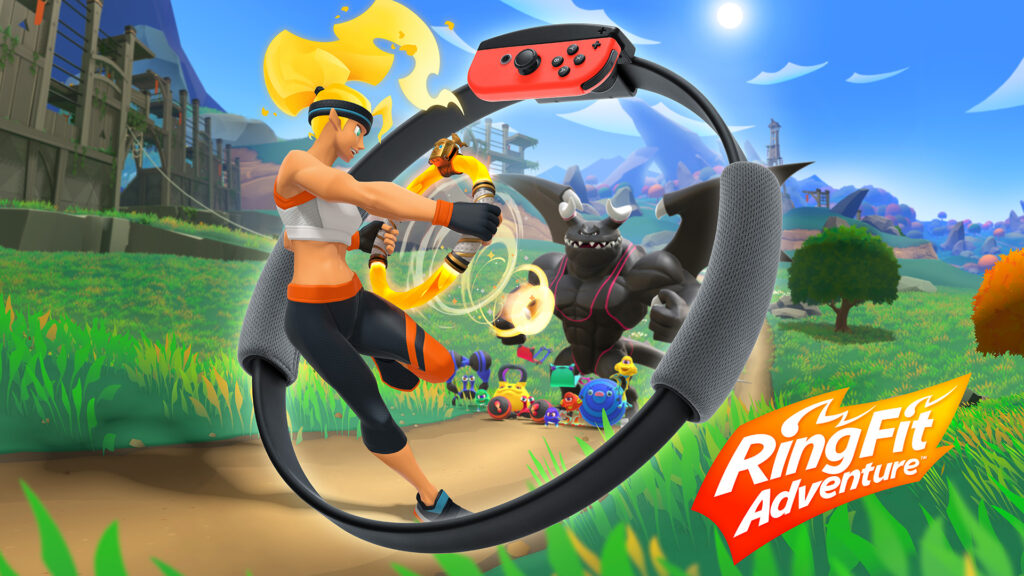 nintendo switch e ring fit adventure