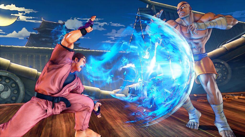 Street Fighter V ecco Dan