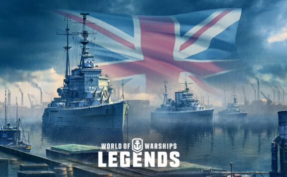 WoWSL British Cruisers 3.0 flag 1920x1080