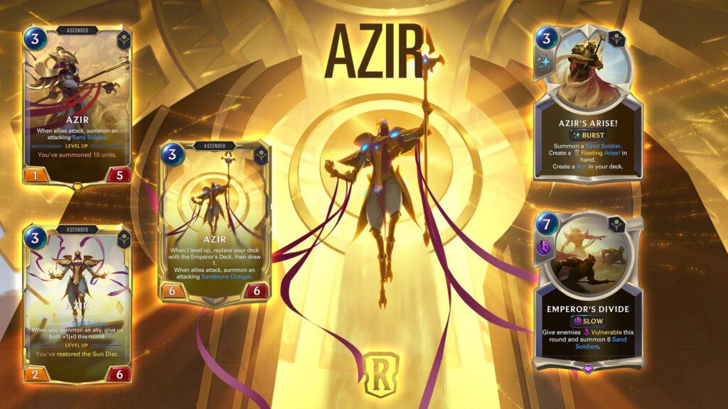 Legends of Runeterra Azir