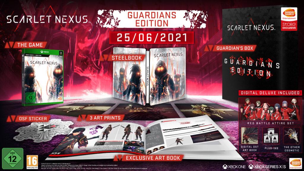 Scarlet Nexus Guardians Edition