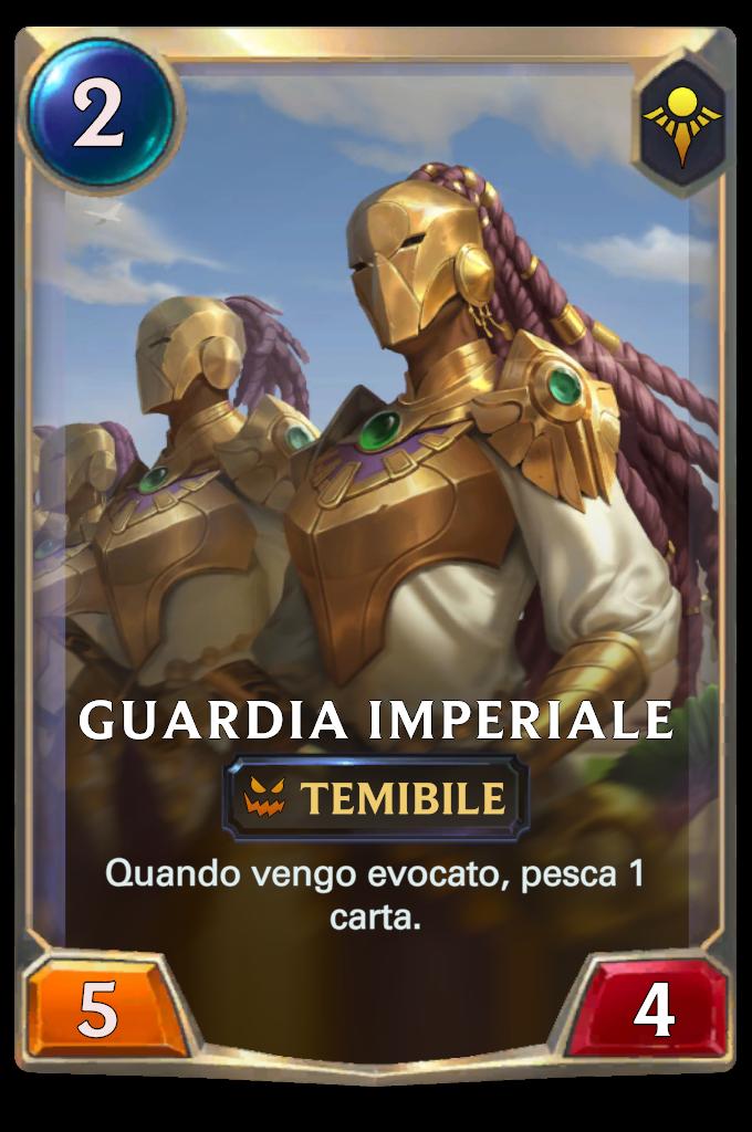 Legends of Runeterra Mazzo Imperatore 3