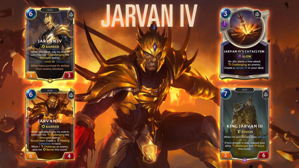 Legends of Runeterra Jarvan IV