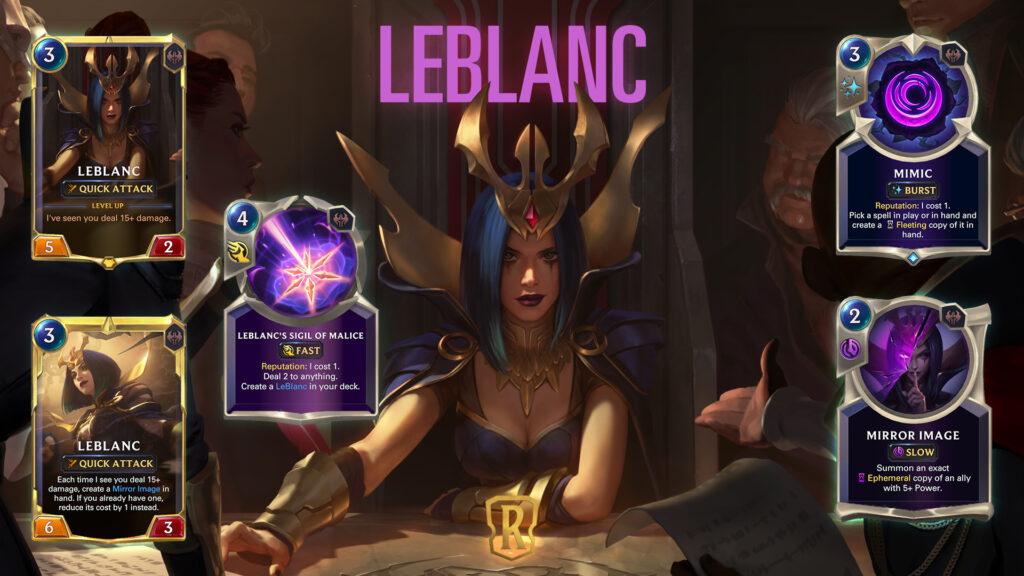 Legends of Runeterra LeBlanc