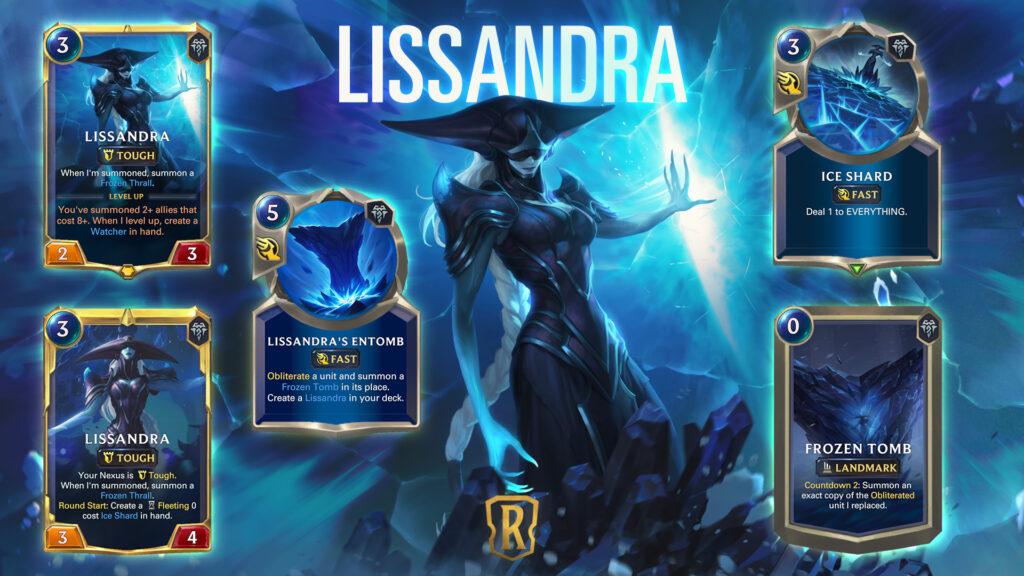 Legends of Runeterra Lissandra