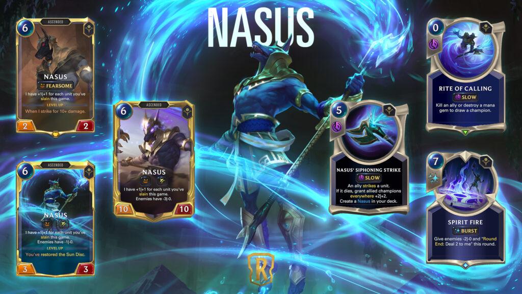 Legends of Runeterra Nasus