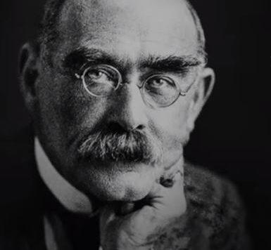 Rudyard Kipling pic FRONT