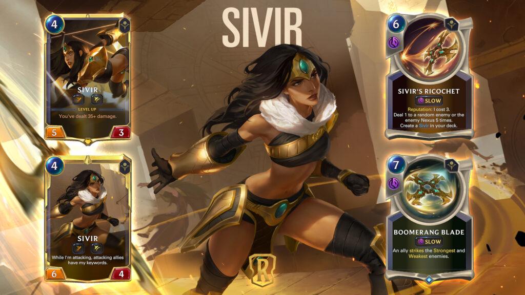 Legends of Runeterra Sivir