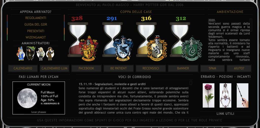Coppa delle Case, Il Paiolo Magico