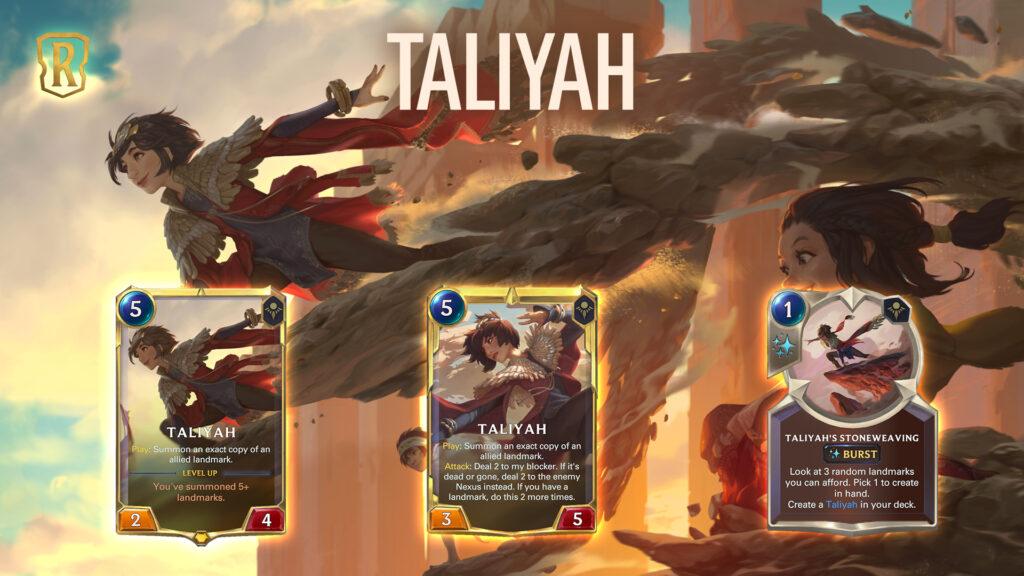 Legends of Runeterra Taliyah