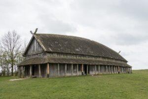 Una delle costruzioni dei Vichinghi