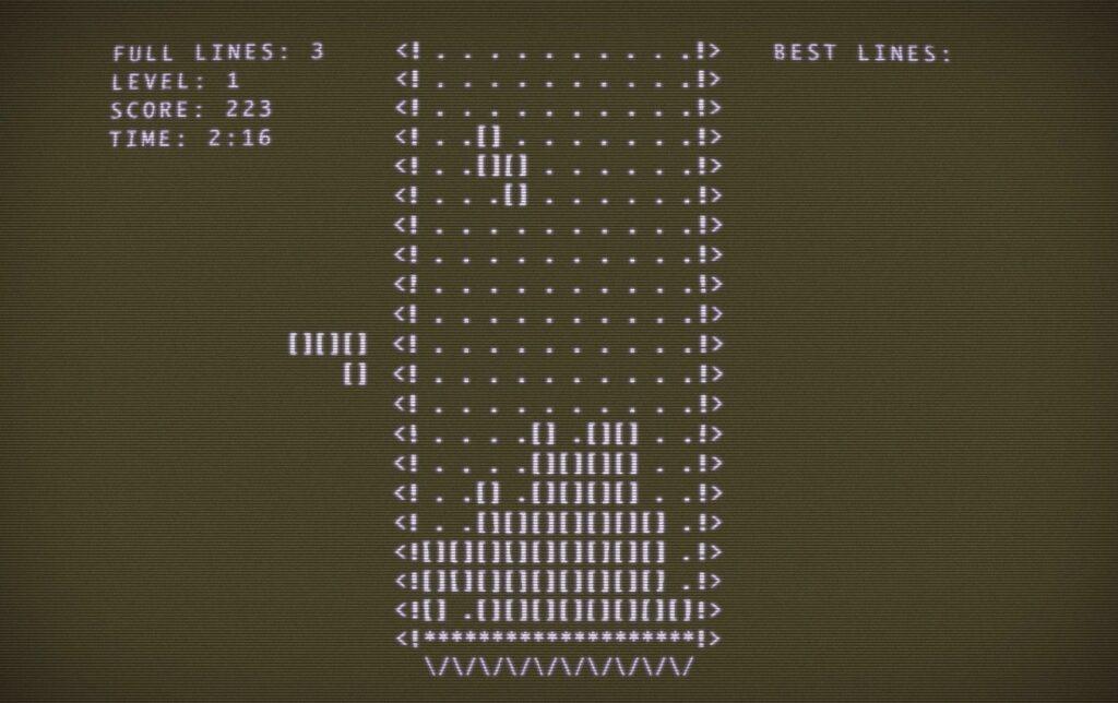 tetris year header