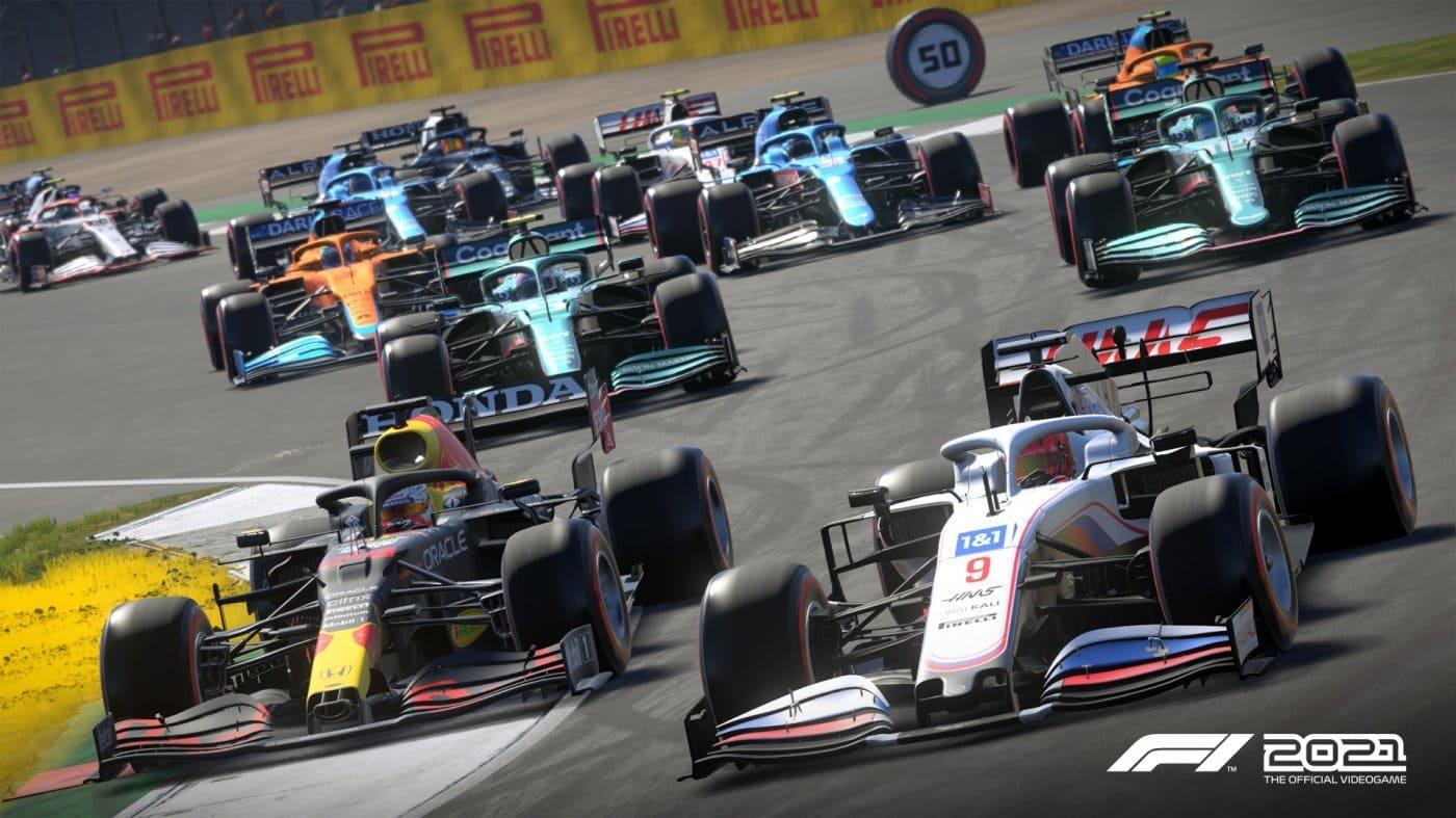 F1 2021 aggiornamento 1.12
